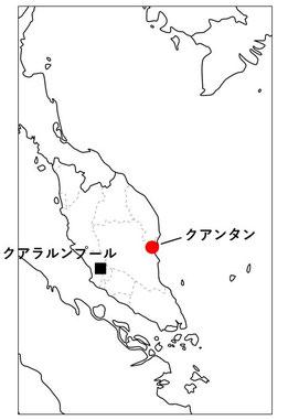 マレーシア(半島部)。