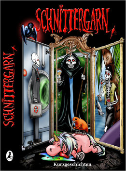 Buch-Cover der Anthologie Schnittergarn aus dem Leseratten Verlag