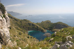 Impressionen auf der Wanderung zur Punta Campanella
