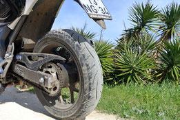 Die Reifen waren durchaus gefordert