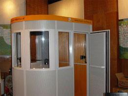 Mobiler Akustik Raum - MRS01 von außen