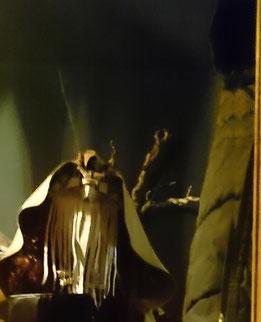 Schamanen Gewand, Trance-Robe, Zeremonie, weiße Schlange