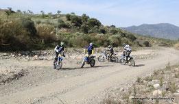 Agentur-Grenzbereich Sportenduro - Reiseenduro Training