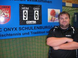 Thorsten Brecht war maßgeblich am Erfolg gegen H96 mit einem Einzelsieg und dem Doppelerfolg an der Seite von Gundolf Freitag beteiligt
