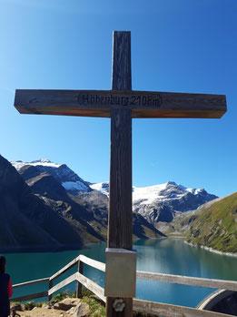 Höhenburg Gipfel über den Kapruner Hochgebirgsstauseen