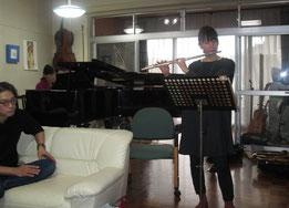 ピアノ:Miyuki フルート:國分直子さん