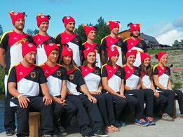 Deutsche Kanu Freestyle Nationalmanschafft '15