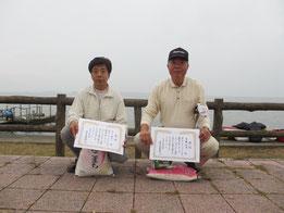 GZ級入賞者 優勝市川道夫 2位高橋明男