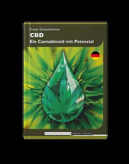 """Buch """"CBD - Ein Cannabinoid mit Potenzial"""" von Franjo Grotenhermen"""