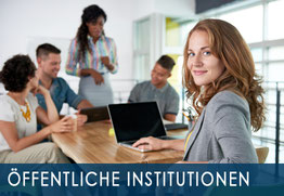 Kunden, öffentliche Institutionen