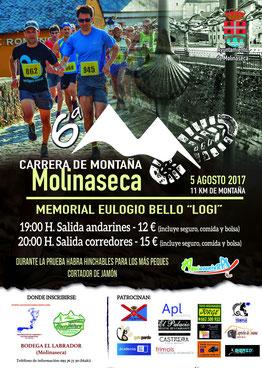 """VI CARRERA DE MONTAÑA """"MEMORIAL LOGI BELLO"""" - Molinaseca, 05-08-2017"""