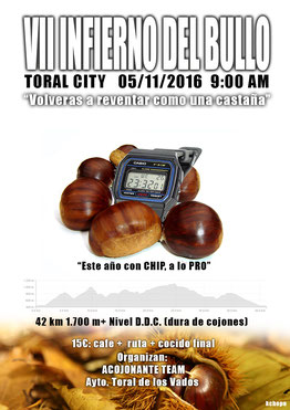 VII INFIERNO DEL BULLO - Toral de los Vados, 05-11-2016