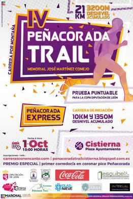IV PEÑACORADA TRAIL - Cistierna, 01-10-2017
