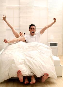 entspannt Schlafen, Schlafplatzanalyse
