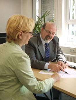 Gründungsberatung in meinem Büro in Rastatt