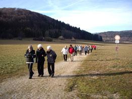 12.01.14 Unterwegs zum Naturfreundehaus Tailfingen
