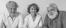 Les trois initiateurs du manifeste