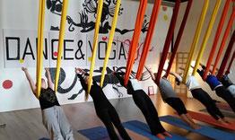Aerial yoga zwolle vrijgezellenfeest