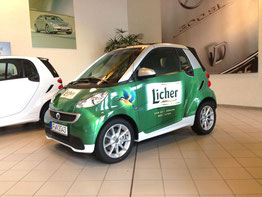 Licher Smart Beklebung