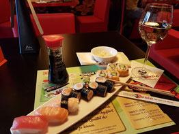Sushi und Wein, Sushi Variationen: Mikado II