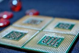 CPU はパソコンの頭脳です