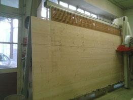 Panneau 3 pris 27 mm d'épaisseur (5m x 2.05 m)