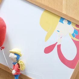 北海道札幌市在住の手編み作家「こまいて」のあみぐるみ作品