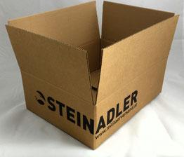 Faltkarton, Versandkarton, Fefco, Flexodruck, Offsetdruck, Wellpappe
