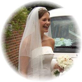 Happy Bride Wedding Taxi