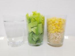 生玄米と野菜のジュース