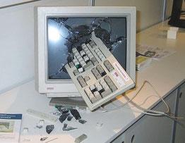 パソコンクラッシュ
