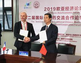 Partenariat avec la chine