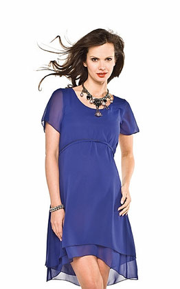 torelle maternity dress dark blue megan