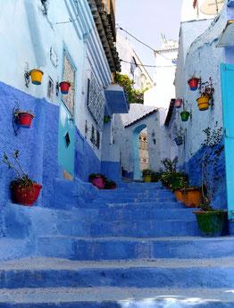 モロッコ旅行パンフに載ってる定番の場所です