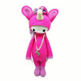 единорожка крючком кукла lalyla doll crochet unicorn