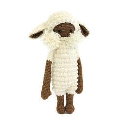 Handmade Crochet Toy Lalylala lamb Lupo Amigurumi, Doll, Gift, Girl, Boy, Baby, Original gift, Inspirations lovely, Gift idea, Present