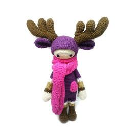 Handmade Crochet Toy Amigurumi, Doll, Lalylala, Yarn, Bat, Vampire, Baby, Transylvania, Vlad Vampire Halloween Doll