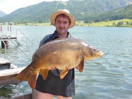 Juni 2014 Spiegelkarpfen 15 kg