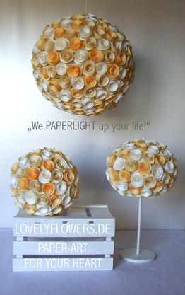 Interessantes über die wundervollen PAPERLIGHTS auf www.lovelyflowers.de!