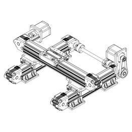 3D printing machine - Linear motion systems, linear rail guide and