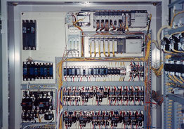 PLC control panel for all process management 1