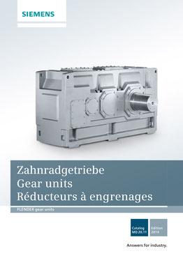 FLENDER Zahnradgetriebe Gear units Réducteurs à engrenages Catalog MD 20.11 © Siemens AG 2018, Alle Rechte vorbehalten