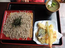 天ぷら蕎麦¥いくらだったかな~?