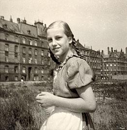 Elke in Hamburg - Sommer 1956