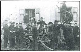 Zweistrahlige Spritze 1905