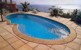 piscinas de poliester forma riñón Elipsa 10
