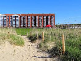 Ferienwohnung mit Meerblick in Cuxhaven Sahlenburg