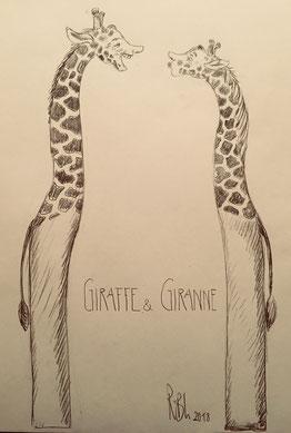 Giraffe & Giranne - Rolf Blöchlinger