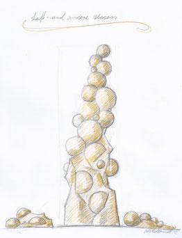 Skizze - Luft- und andere blasen