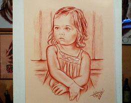 Portrait-crayon-sanguine